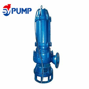 Heavy duty sand slurry centrifugal submersible water pump