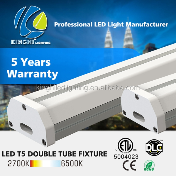 120cm 30w led t5 double tube linkable fixture CE DLC UL