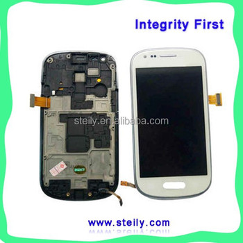 Lcd with touch digitizer for samsung galaxy S3 mini, Lcd assembly for s3 mini i8190, Lcd and digitizer for s3 mini i8190