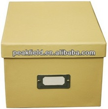 Colored printed DVD decorative storage box wholesale & packet boxes