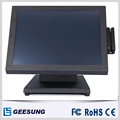 Factory direct sale super stable 15 inch touch screen monitor/vesa hole support wall-mounting