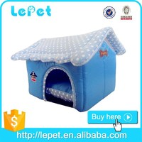 Factory wholesale new soft pet dog house indoor handmade dog house