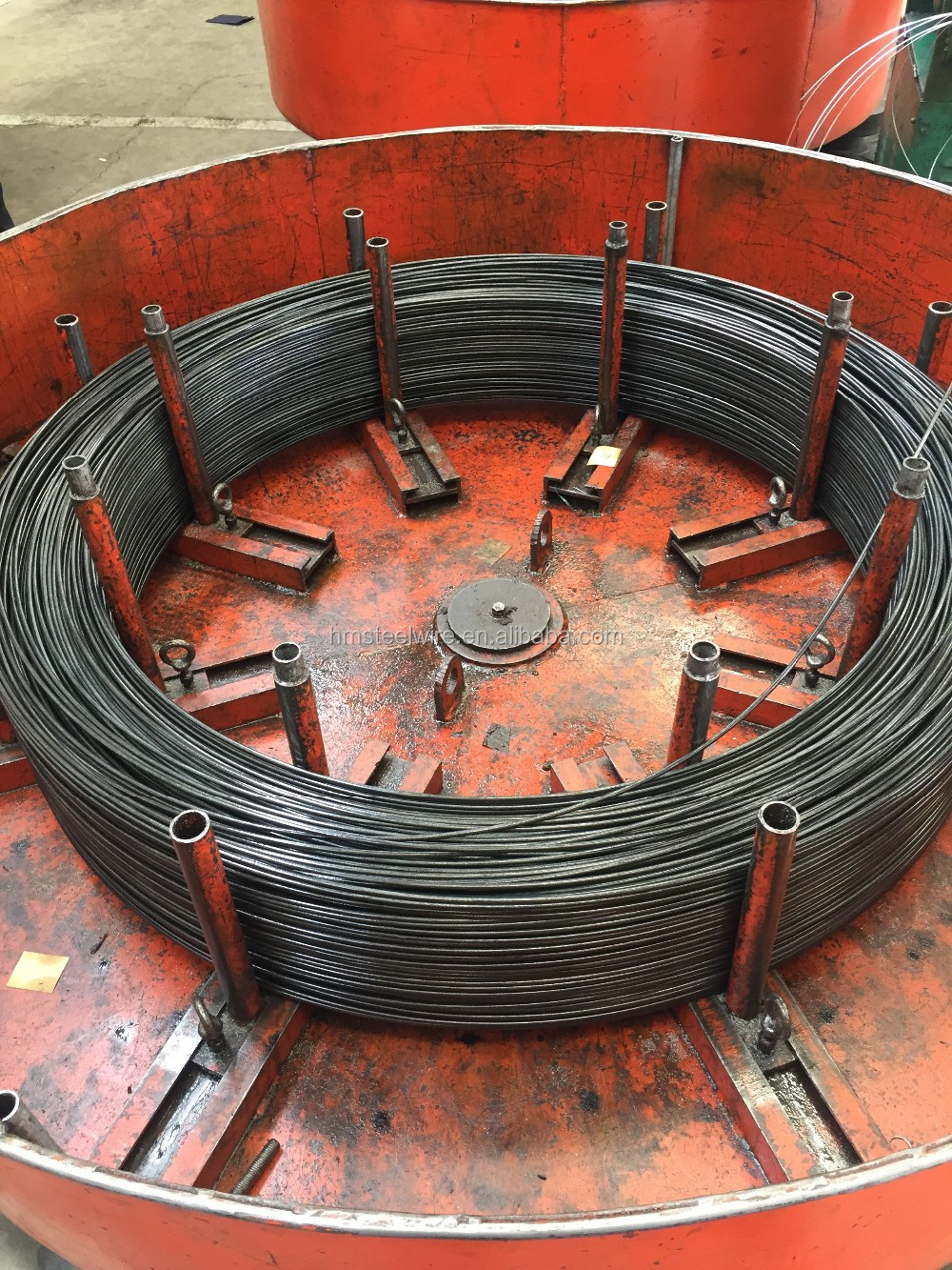 Oil tempered spring wire alloy spring steel wire 60Si2Mn/II92600/SUP7/60SiCr7/61SiCr7