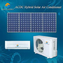 High quality 9000btu 12000btu ACDC hybrid wall home best cost solar split air conditioners on sale