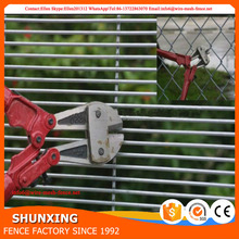 358 Mesh Welded High Security Fence polyester coated antirust surface safety fence in china market