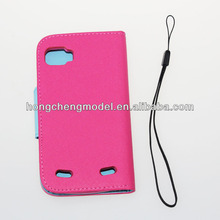 Luxury flip leather case For Samsung Galaxy s4 zoom