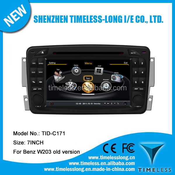 Timelesslong Car DVD Sat Navi for BENZ C CLASS W203 OLD VERSION