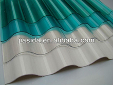 High quality 1.5mm polycarbonate wave panel/Plastic PC Corrugated Sheet for Roof Ceiling,colorful