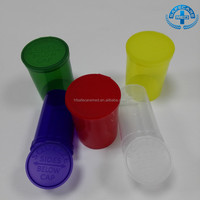 Empty Plastic Bottles Medical Cannabis Pop Top Rx Herb Container