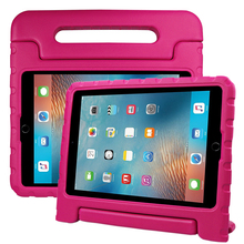 EVA foam protective case 180 rotating handle stand shockproof tablet case for ipad pro 10.5 kids case