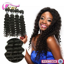 Factory Price No.1 Selling Top Quality Chemical Free 3 pcs Human Hair Extension