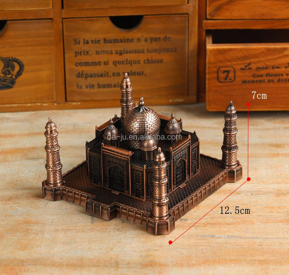 Taj Mahal India Miniature Building Model Souvenir