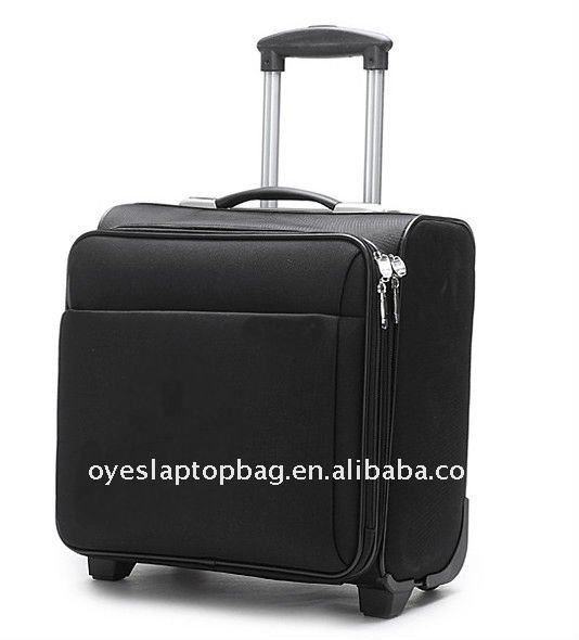 business 18 inch pilot trolley bag parts fits 15.6 inch laptop