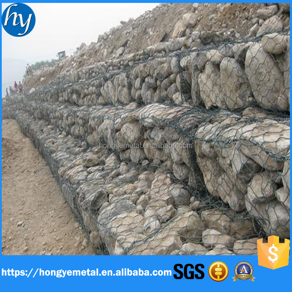 PVC coated Gabion Box,Erosion Control Gabion Baskets,Gabion Box Wire Mesh Product