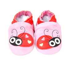 2018 New Arrival Funny OEM Soft Baby Leather Shoe Girl/Boy, Baby Animal Winter Shoes for Kids
