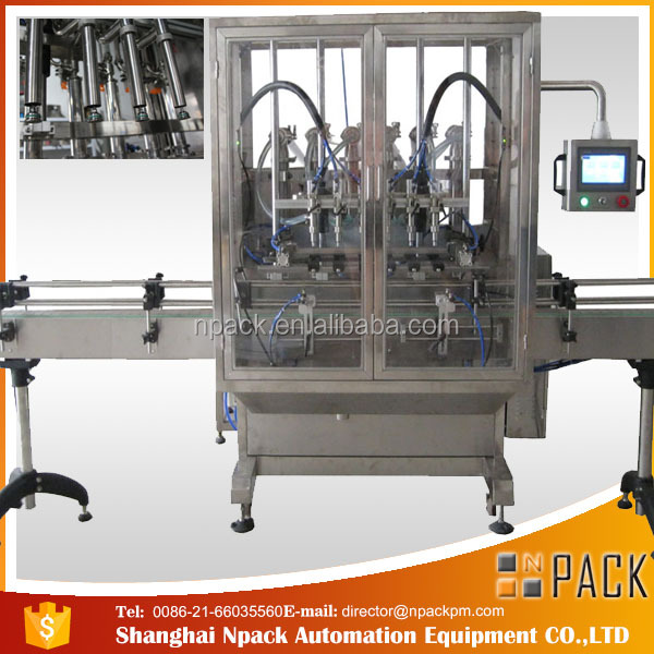 factory anti-leakage automatic cosmetics filling machine