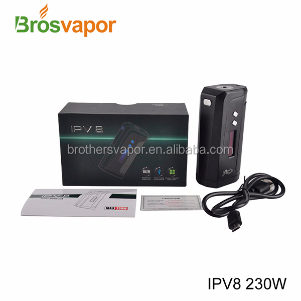 2016 newest original Pioneer4you IPV 8 230W mod/IPV6X/IPV5 mod from Brosvapor