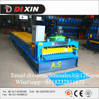 corrugated zinc iron sheet metal roofing tile making machine for sale