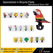 most selling cartoon shaped bicycle bell for christmas