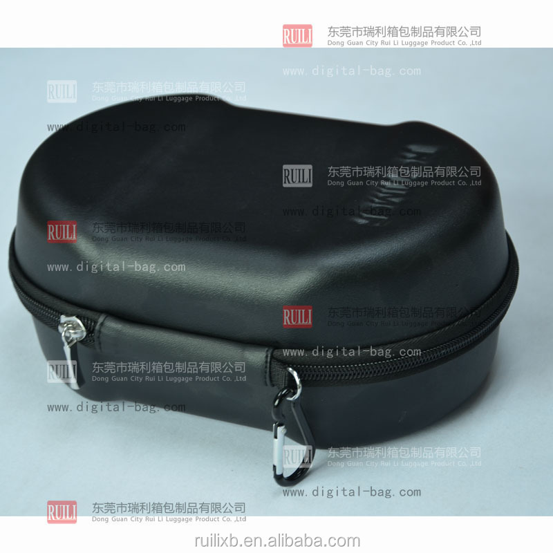 Custom semi hard carry case eva box/eva bag/eva etui for swim goggles