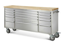 72 inch large steel tool box, heavy duty stainless steel tool box trolley, drawer steel tool box