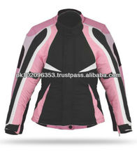 Motorbike Jackets Ladies Motorcycle Jackets Three Layer jackets Women Motorbike Jackets Pink Girl Jackets