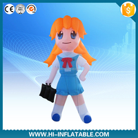 Lovely Inflatable Girl Model/Cartoon