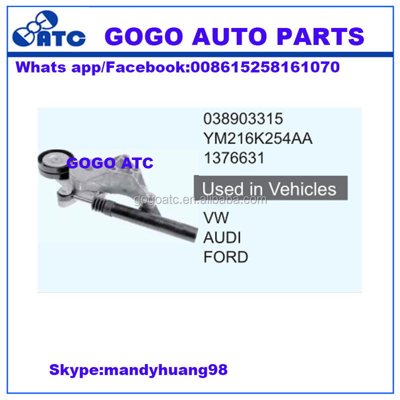 038903315 YM216K254AA 1376631High quality and good service timing belt tensioner for vw audi