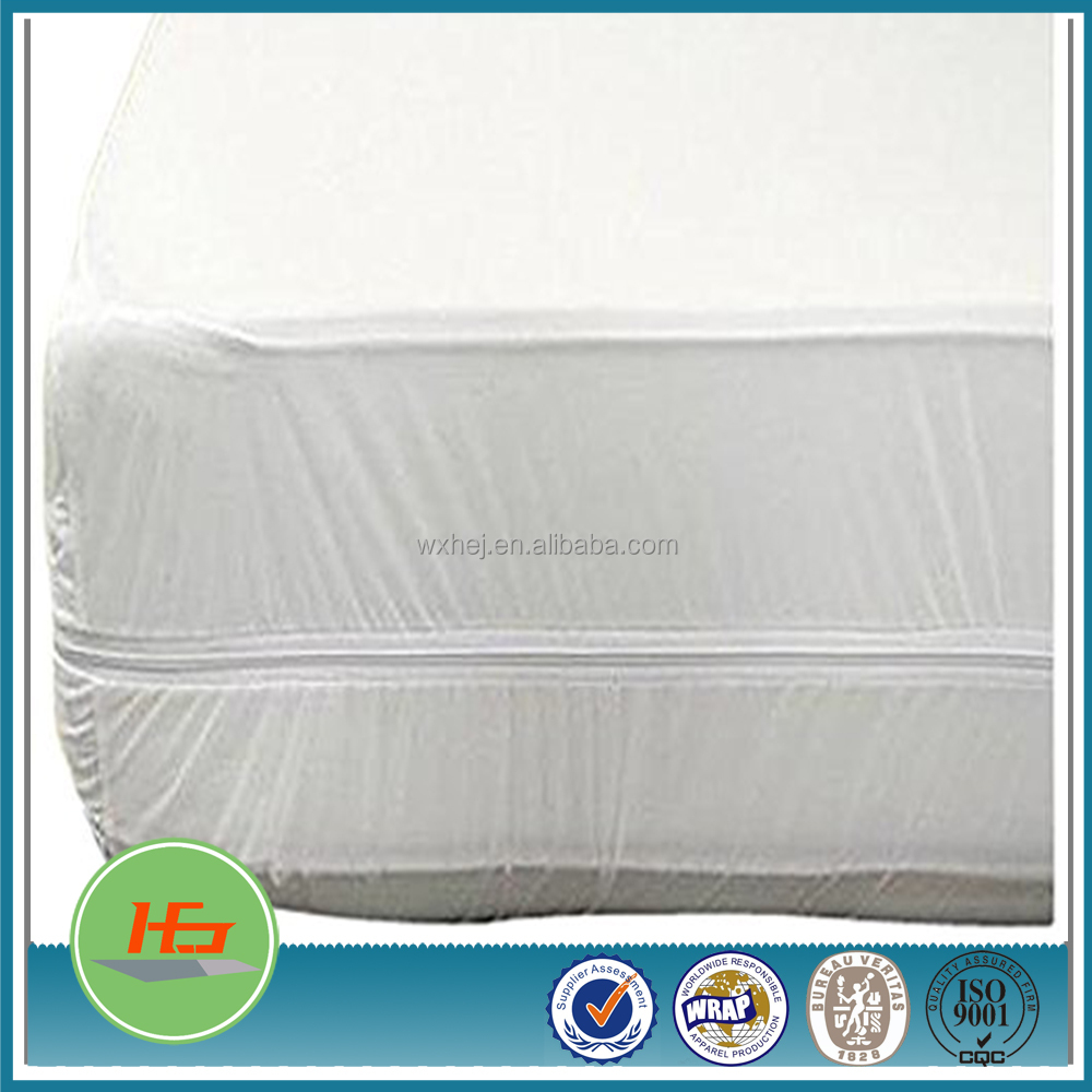 100% Waterproof Mattress Protector Queen Size - Protect Your Family and Your Mattress From Bedbugs.