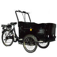 Aluminium alloy frame family cargo use 3 wheel motorcycle trailer