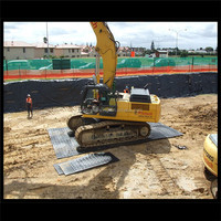 Heavy Duty PE/HDPE Ground Protection Dura deck
