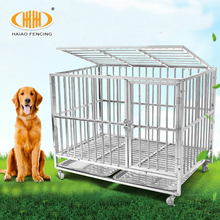 High quality and hot sale large 6x10x6 cheap stainless steel dog kennels