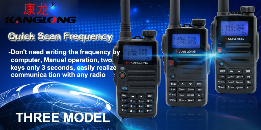 KL-H3 Unique feature profesional UV dual band radio 128channel communicator walkie talkie
