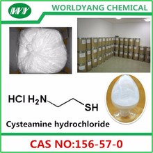 worldyang white crystalline powder 99% Cysteamine hydrochloride CAS NO./Number : 156-57-0