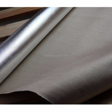 Heat Reflective Fabric Heat Resistance Aluminum Foil Fiberglass Cloth
