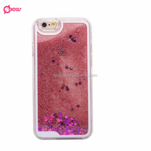 WHOLESALE GLITTER STAR LIQUID HARD PC CELL Phone case for IPHONE 6 AND 6PLUS AND FOR SAMSUNG S6 NOTE4 NOTE3