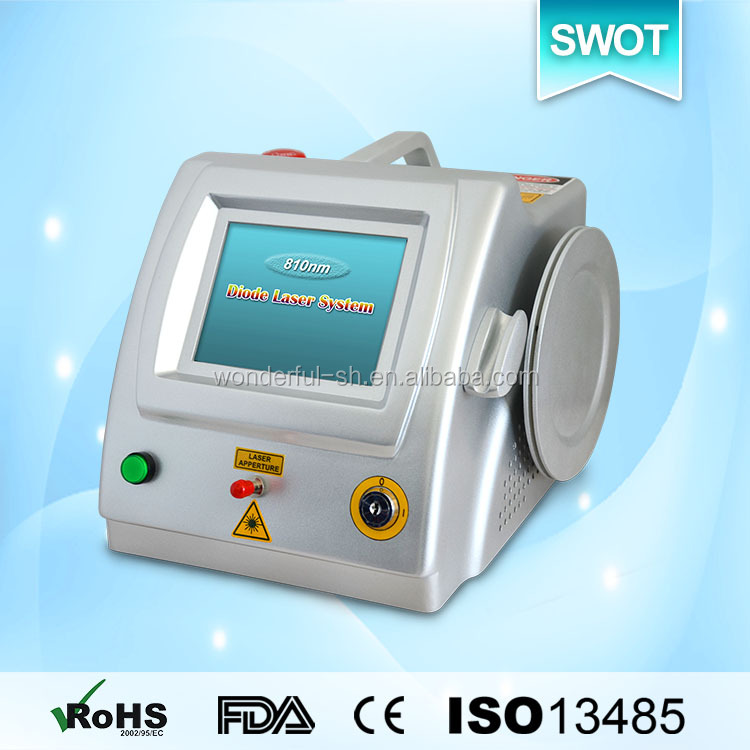 810nm diode dental latest economic 980nm diode laser spider veins removal machine