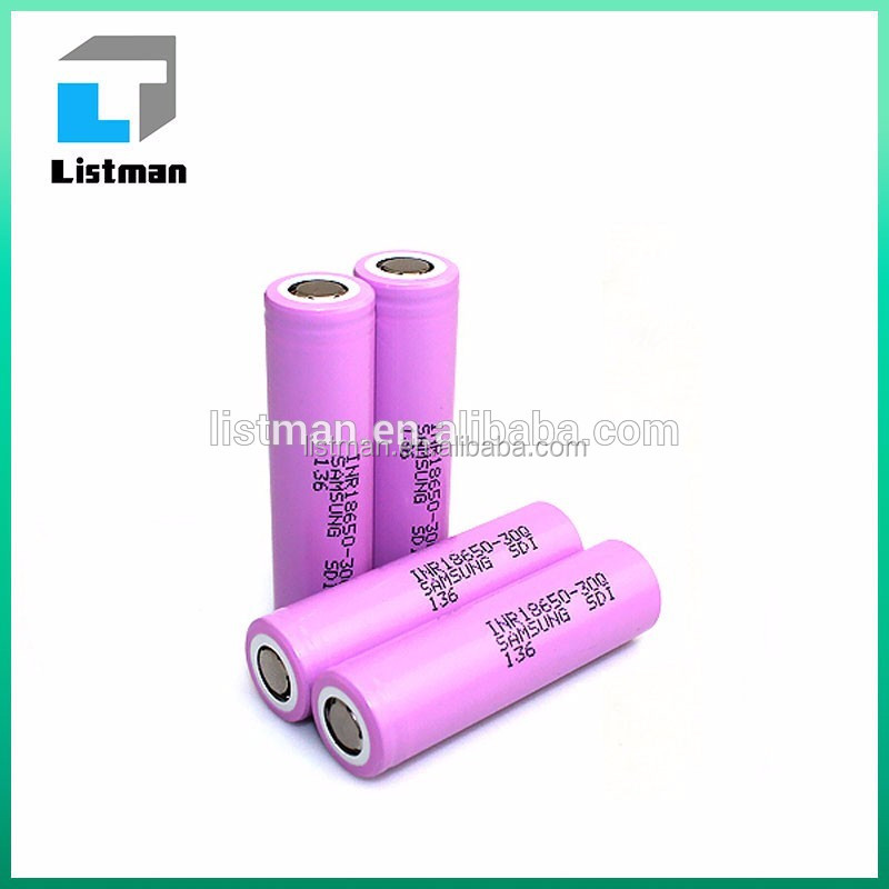 Power Type flat Cells sumsang INR18650 30Q 15a 3000mah Battery 2016 trending products business vaporizer
