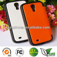 TPU&PC flip leather cover for Samsung galaxy s4 i9500