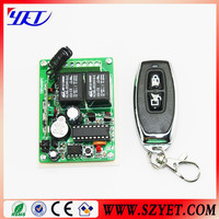 4 channel rf transmitter receiver circuit
