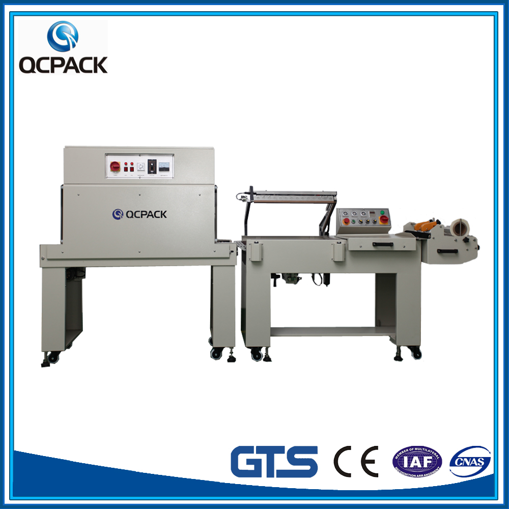 Best price shrink wrapper machine for bottle can wrapping and packaging price