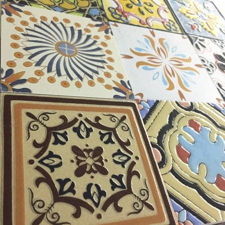 100x100 Floor and Wall Hand Painted Decorative <strong>tiles</strong>