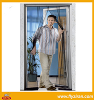 Insect Polyester Mesh Curtain Door With Four Pieces