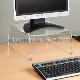 Clear Perspex Viewing Screen Display Stand Lucite Monitor Display Stand Acrylic Monitor Display Stand