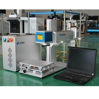 20W fiber laser marking machine with protective cover