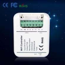 works with 1903 2812 2811 2801 6803 ic DC12V wifi led remote controller wifi IOS and Android phone