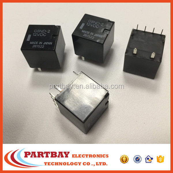 Electronic Components automotive PCB relay G8ND-2