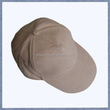 Khaki Sports Cap Plain No Logo Man Sports Cap Cotton Twill Plain Sports Cap