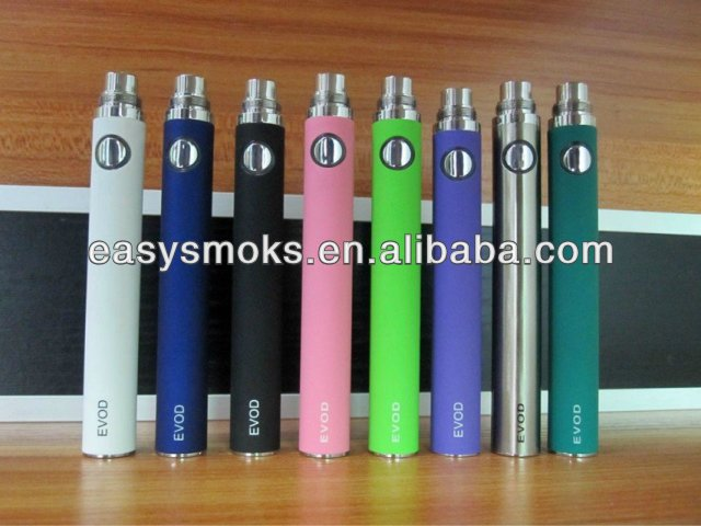 2014 Global resources e-cigarette mod 650/900/1100mah evod mt3 battery evod battery