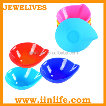 Kitchen promotional gift silicone colored small mini condiment set